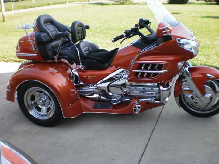 New Roadsmith Trike, wondering about protecting front